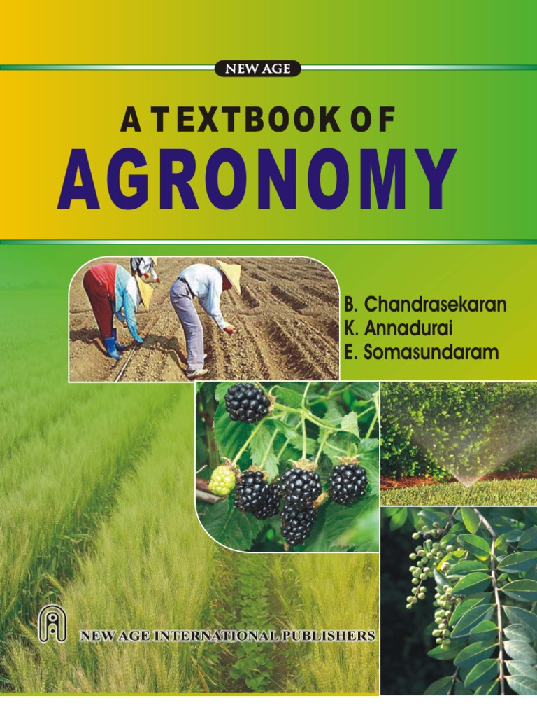 Text book of agronomy herbicide agriculture fandeluxe Image collections