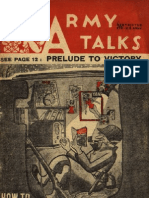 Army Talks 1945 - How to Keep House in a Foxhole