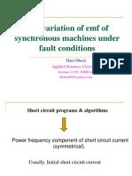 Variation of Emf