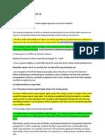 Solas Regulation II