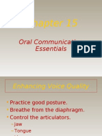 Oral Communication Essentials
