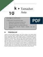 Topik 10 Tamadun Asia