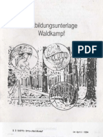 Ausbildungsunterlage Waldkampf