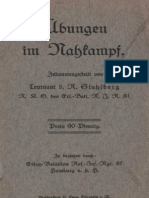 Übungen im Nahkampf - Zsgest v. Leutnant d. R. Stahlberg 1917