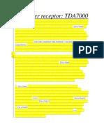 Receptor Fm con TDA 7000