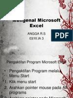 Mengenal Aplikasi Pengolah Angka Microsoft Excel