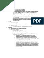 Psychology AQA unit 1 revision
