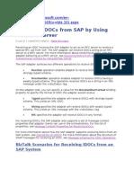 Receiving IDOCs From SAP by Using BizTalk Server