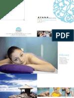 Ayana Spa Brochure Eng