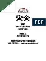 Red Rock Sotware Conf_program