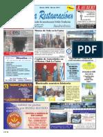 Mensuario LA RESTAURACIÓN - N° 63 -