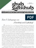 Gasschutz und Luftschutz 5.Jahrgang 1935 / Zeitschrift für das gesamte Gebiet des Gas- und Luftschutzes der Zivilbevölkerung