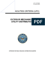 Exterior Mechanical Utitlity Distribution