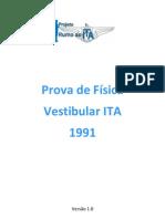 ITA - 1991 - Física