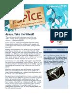 January 2013 Spice Newsletter