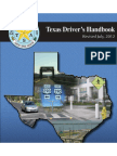Texas Drivers Handbook - 2013 (PDF file)