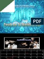 Calendario de Objetivo Fama 2009 (2da Edicion)