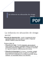 UD1 PPT4 Infancia en Riesgo Social