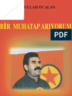 Abdullah Öcalan-Bir Muhatap Arıyorum