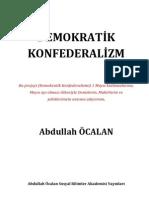 Abdullah Öcalan-Demokratik Konfederalizm
