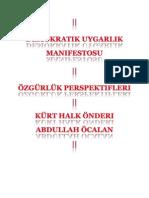Abdullah Öcalan-Demokratik Uygarlık Manifestosu