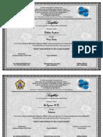 Contoh Sertifikat Seminar Kesehatan Nasional Docx