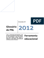 Glossário de PNL - 2012
