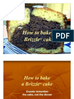 How to Bake a Brizzle™ Cake
