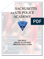 Mass State Police Pre-Academy Fitness Training Guide