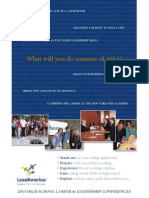 leadamerica-summer-high-school-conferences