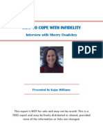 How To Survive Infidelity-Interview With Sherry Osadchey.