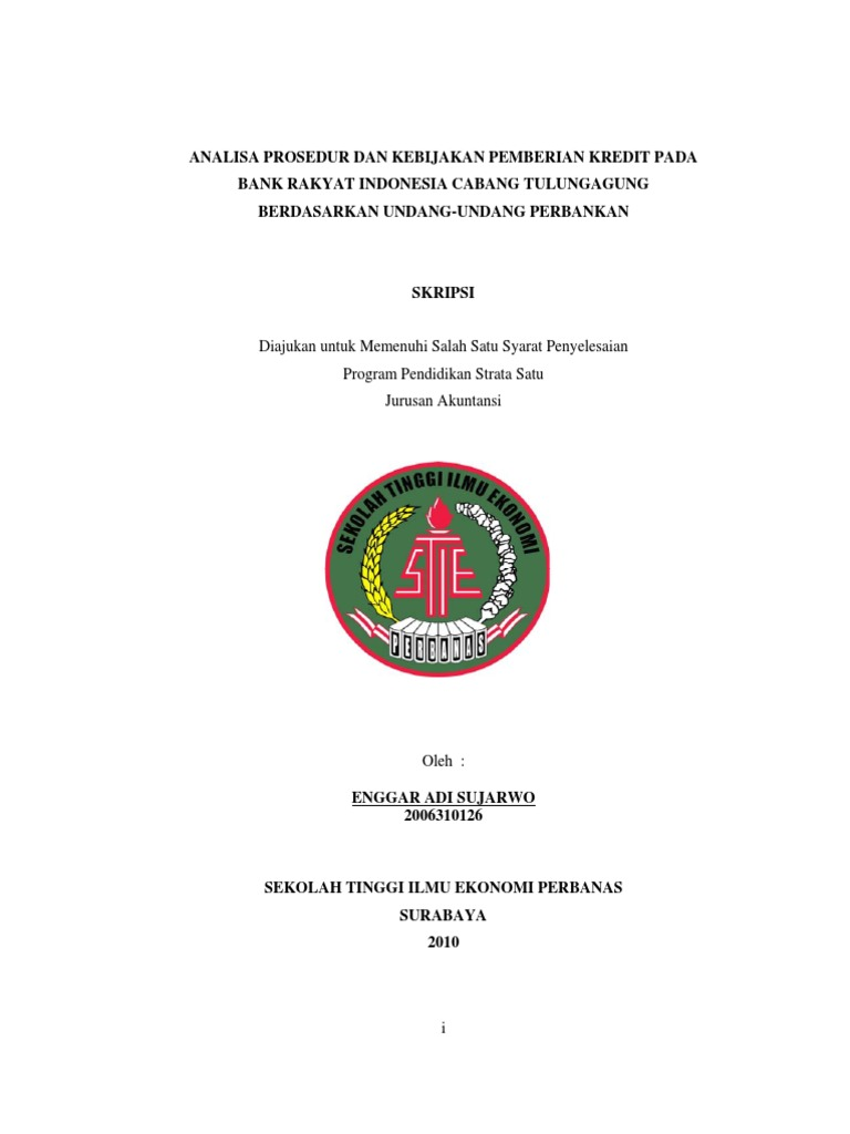 Contoh Skripsi Akuntansi Kualitatif Pdf Contoh Soal Pelajaran