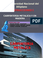 CARPINTERIA METALICA Y EN MADERA