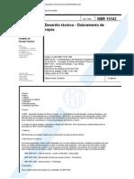 NBR 13 142 - Desenho Técnico - Dobramento de Folha