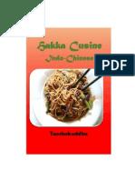 HAKKA CUISINE - INDO CHINESE STYLE