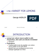 Fl 16 the Market for Lemons