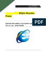 Interneti dhe ndikimi i tij ne jeten e perditshme , Gjon Buzuku press