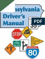 Pennsylvania Drivers Manual 2013