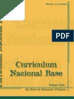 CURRICULO NACIONAL BASE I CICLO GUATEMALA