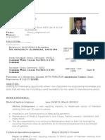 Khawar Riaaz CV