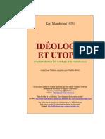 Karl Mannheim Ideologie Et Utopie