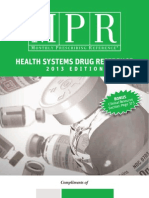 MPR Teva 2013 Edition Health Systems Pharmacy Drug Reference