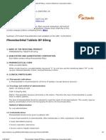 Phenobarbital Tablets BP 60mg - Electronic Medicines Compendium (eMC) - Print Friendly