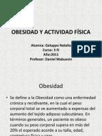 OBESIDAD Y ACTIVIDAD F+ìSICA