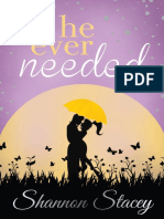 All He Ever Needed by Shannon Stacey - Chapter Sampler