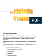 Special Casting Processes