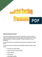 Special Casting Processes