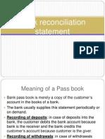 8Bank Reconciliation Statement