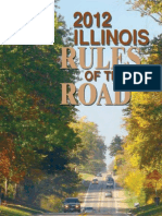 Illinois, Rules of the Road -2012-2013
