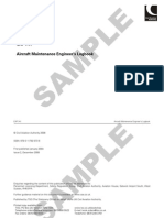 Aircraft Maintenance Engineer's Logbook